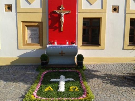 Altar Fronleichnamsprozession