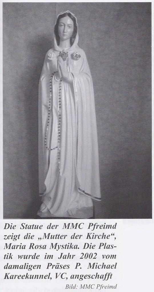 Statue Maria Rosa Mystika